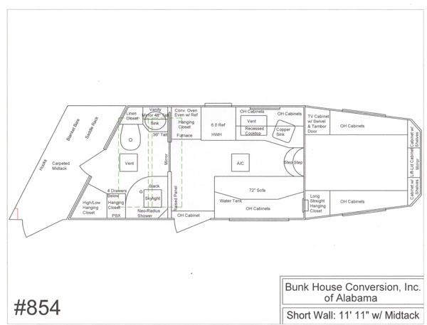 Bunkhouse Conversion of Alabama